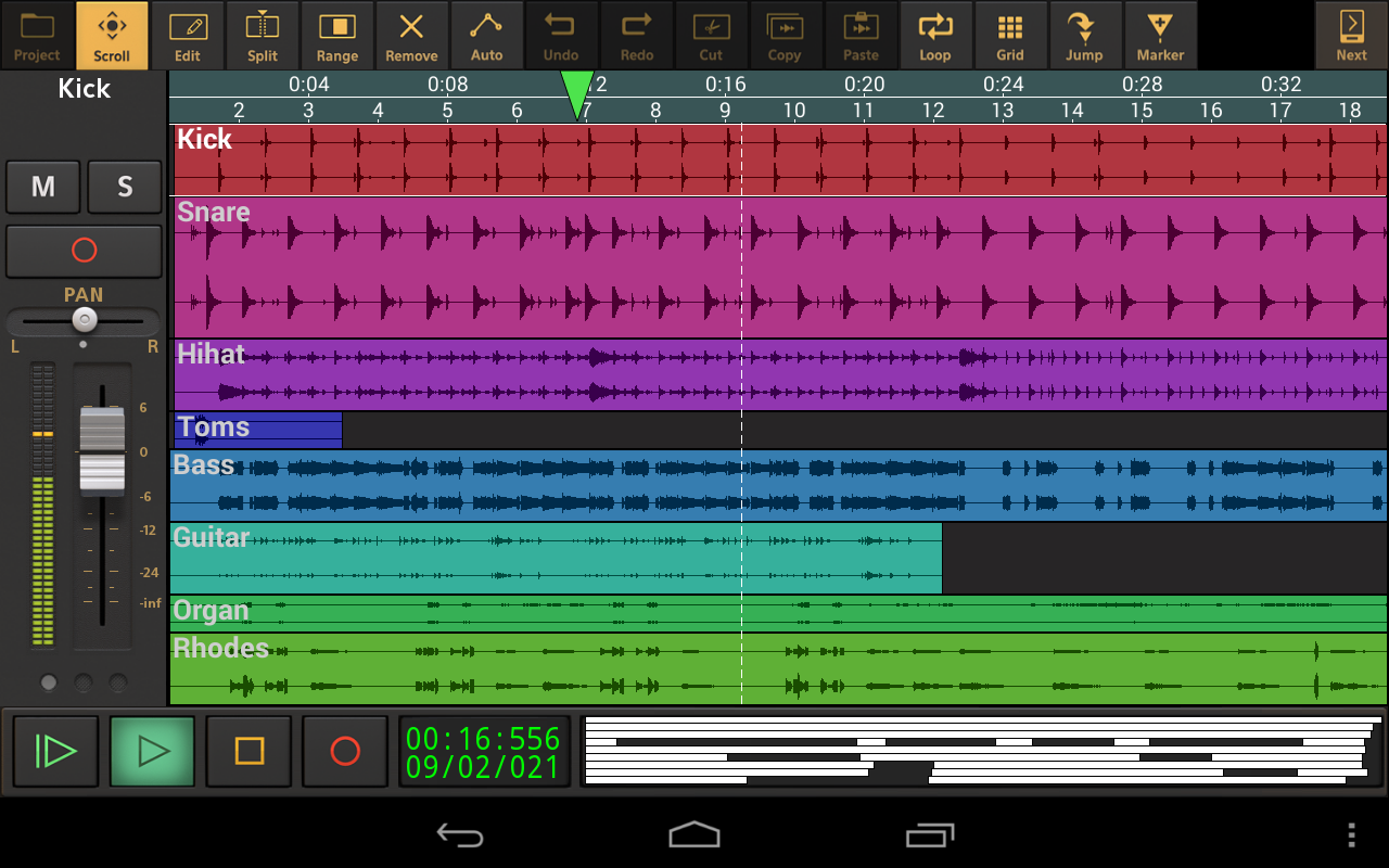 Audio Evolution Mobile Studio Screenshot 16