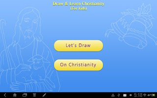 Screenshot of Draw & Learn Christianity