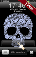 Screenshot of Flower Skull GO Locker