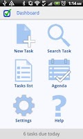Screenshot of ToDo Next Task & To Do List