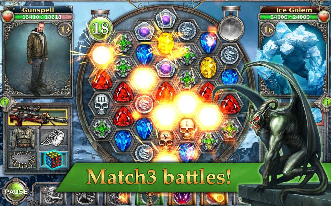 Gunspell - Match 3 Battles Screenshot 7