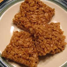 Healthy Brown Rice Krispies Treats