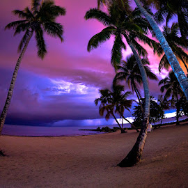 *** by Alexandru Popovski - Landscapes Beaches ( clouds, lightning, sky, ocean, beach )