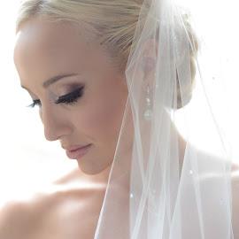 Elegance at its finest by JOSH WOLFE - Wedding Bride ( gorgeous, elegance, wedding, sunrise, bride )