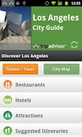 Screenshot of Los Angeles City Guide