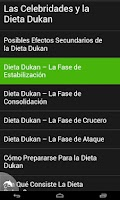 Screenshot of Dukan La dieta