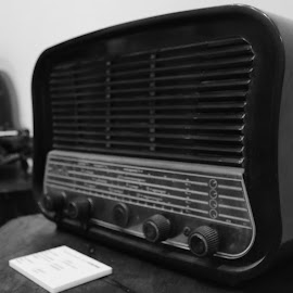 An Old Radio by Pieter Haro - Artistic Objects Technology Objects