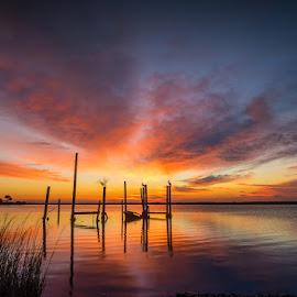 Eastpoint Sunrise by Glenn Taylor - Landscapes Sunsets & Sunrises