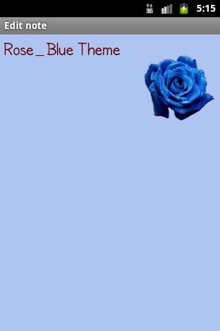 Rose_BlueTheme