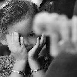 hidden smile by Makarona Sitepu - Babies & Children Children Candids ( indonesia, play, children, smile, kid,  )