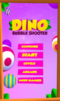 Screenshot of Dino Bubble Shooter