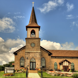 St Paul's Liberty Lutheran Church #2 by Michelle Cox - Buildings & Architecture Places of Worship (  )