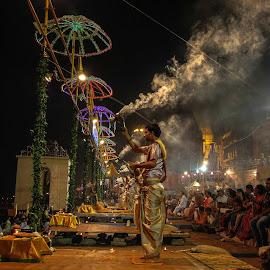 Devotion by Samichin Bhattacharjee - People Street & Candids