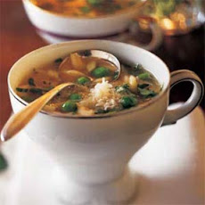 Pea-and-Pasta Soup Sips