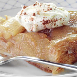Upside Down Apple & Cinnamon Tart