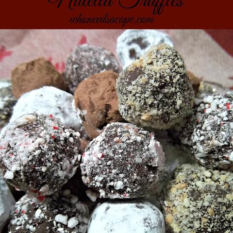 10 Best Nutella Chocolate Truffle | Chocolate Cake ...