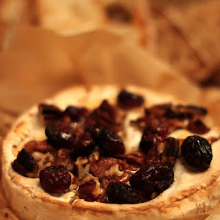 Baked Camembert with Dried Fruit