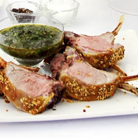 Mustard And Herb Lamb Chops With Honey Dressing Rezept | Yummly