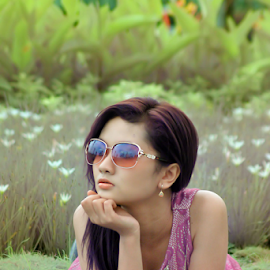 garden beauty by Bayu Shutter - Novices Only Portraits & People