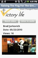 Screenshot of Victory Life Baptist Church