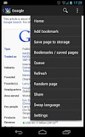 Screenshot of Wikidroid (Wikipedia Browser)