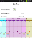 Screenshot of My Calendar Plus
