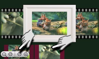 Screenshot of Video Frames Gallery