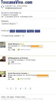Screenshot of Tuscany Hotels Toscana Viva