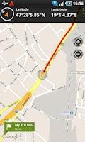 Screenshot of Outdoor Navigation