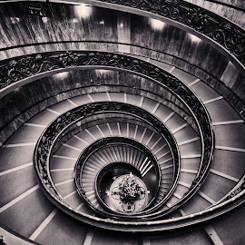 Double Helix by Giuseppe Momo, Vatican by Dharmali Kusumadi - Buildings & Architecture Architectural Detail