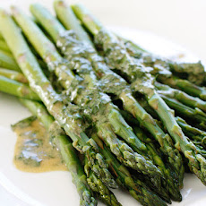 Asparagus with Dijon Vinaigrette