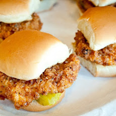 Chicken Filet Sliders Recipe