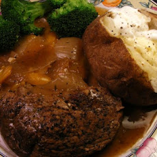 Slow-Cooked Sirloin