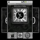 Silver Alarm Clock Widget icon