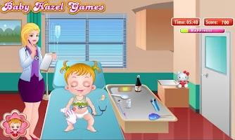 Screenshot of Baby Hazel Stomach Care