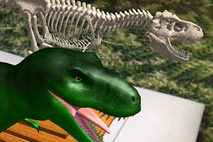 Screenshot of Logie T.Rex Augmented Reality