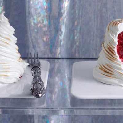 Raspberry and Aperol baked Alaska – Bake Off inspired