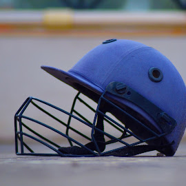 Safe Sports by Mackerel Skies - Sports & Fitness Fitness ( playground, cricket, outdoor, sports, saftey, helmet )
