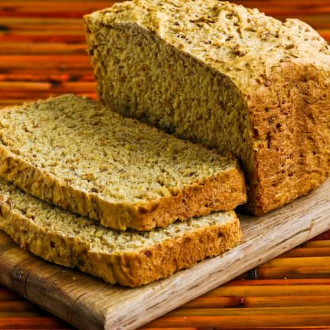 Bread Machine Whole Wheat Bread Recipe with Bulgur Wheat, Oats, Bran, and Flax Seed Meal