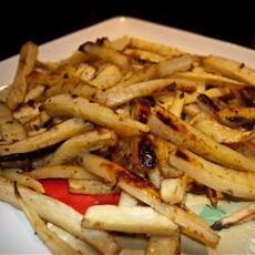 Roasted Parsnips with Mint and Sage