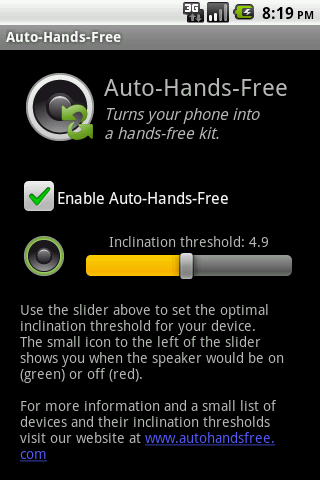 Auto-Hands-Free