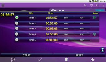 Screenshot of Alarm Clock, Stopwatch & Timer