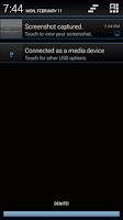 Screenshot of Black 'n Blue CM11/AOKP Theme