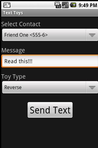 Text Toys