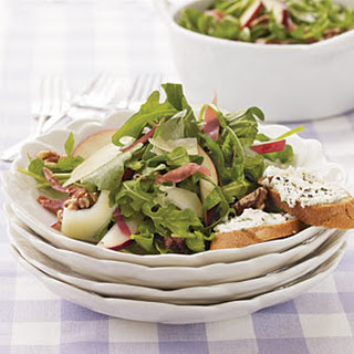 Arugula Salad with Prosciutto and Pears