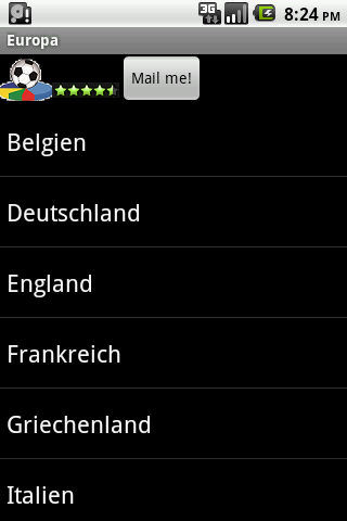 German Europe Football History