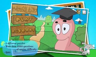 Screenshot of Brain Land