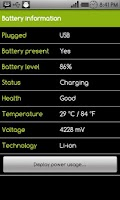 Screenshot of Battery Power Widget