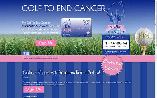 Golf To End Cancer