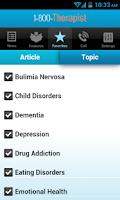 Screenshot of 1-800-Therapist